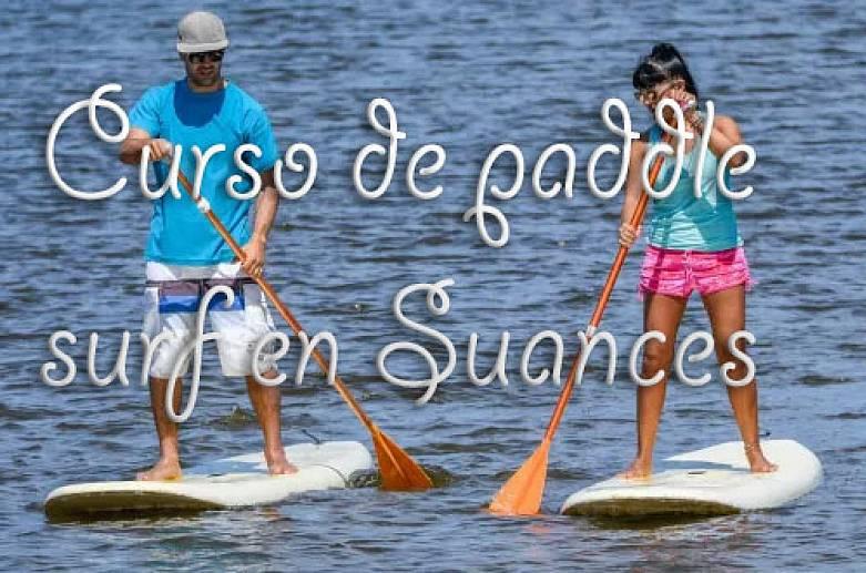 Curso de paddle surf en Suances-2